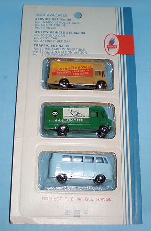 Budgie Miniatures No.97B Truck Set (reverse)