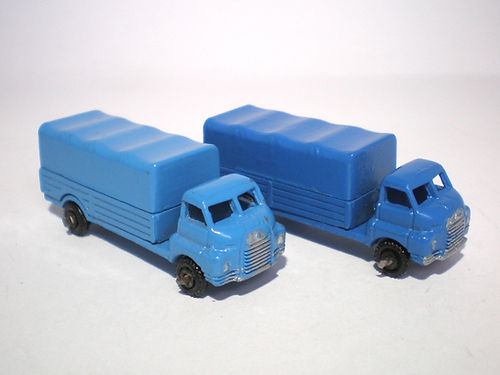 Benbros Mighty Midget No.31 Bedford Covered Truck - colours