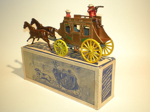 Morestone' Galloping Horses' Stage Coach