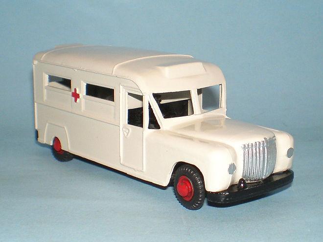 Benbros Zebra Toys Daimler Ambulance
