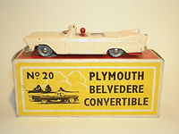 Budgie Miniatures No.20a Plymouth Belvedere