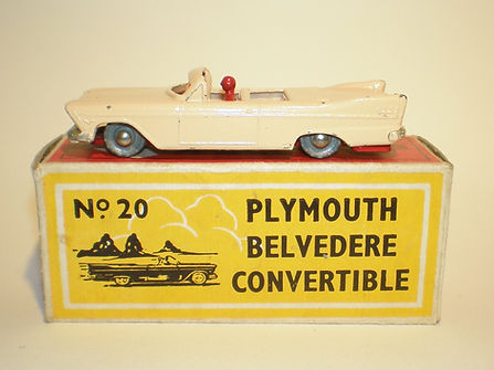Budgie Miniatures No.20a Plymouth Belvedere Convertible