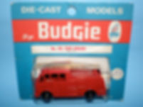 Budgie Miniatures No.59 Fire Engine - blue blister-pack