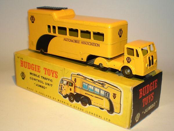 Budgie No.218 AA Mobile Traffic Control Unit 'Jumbo'