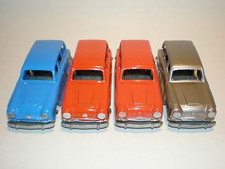 Budgie Miniatures No.15 Austin Countryman - colours and front trim