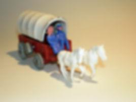 Budgie 'Wagon Train' Covered Wagon