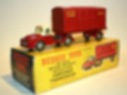 Budgie No.252 British Railways Articulated Container Transporter