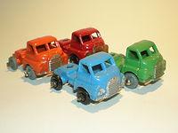 Benbros Mighty Midget Nos.43-48 Bedford Cabs