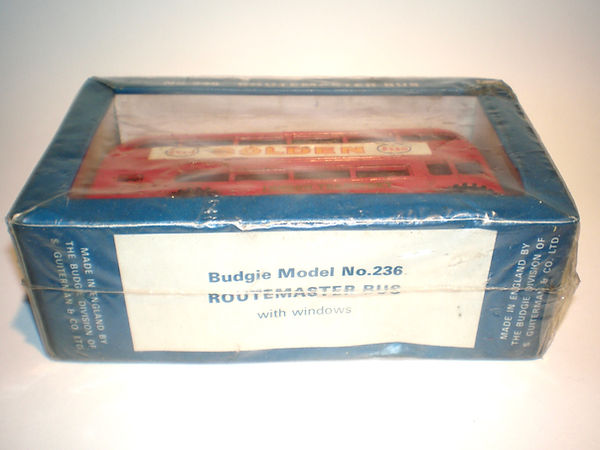 Budgie No.236 Routemaster Bus window pack