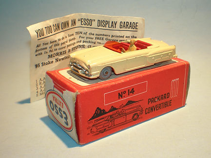 Morestone Esso Petrol Pump Series No.14 Packard Convertible