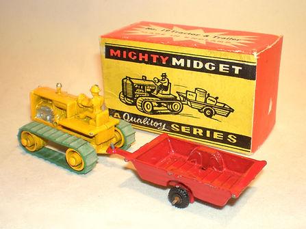 Benbros Mighty Midget No.19 Tractor & Trailer