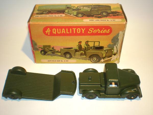 Benbros Qualitoys A111 Army Low Loader