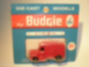 Budgie Miniatures No.11 Royal Mail Van - blue blister-pack