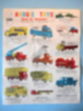 Budgie Toys Leaflet 1960 - Second Issue