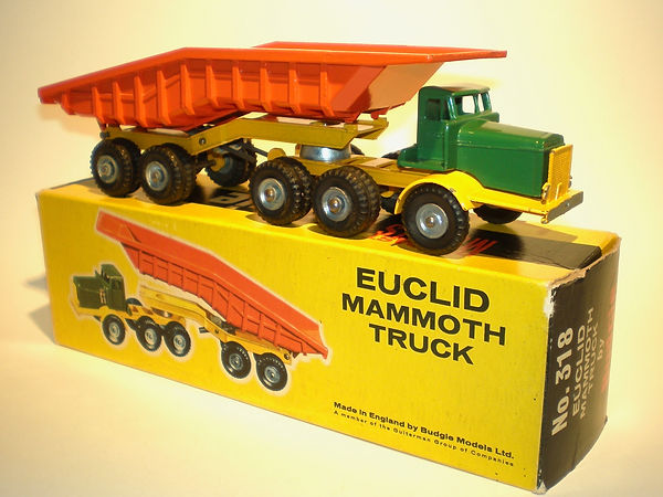 Budgie No.318 Euclid Mammoth Truck