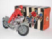 Benbros Zebra Toys Motorcycle No.2 Rally Rider