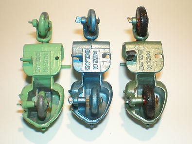 Benbros No.15 Vespa Scooter 3 base variations