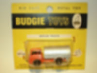 Budgie Miniatures No.24 Refuse Truck - yellow blister-pack