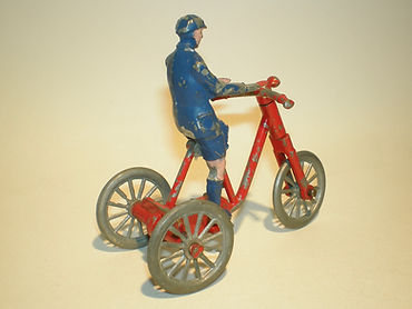 Morestone Boy on Tricycle - red