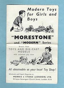 Morestone (Morris & Stone) Catalogue 1955