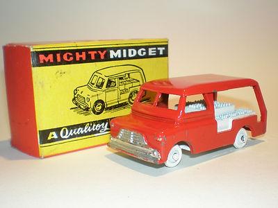 Benbros Mighty Midget No.39 Milk Delivery Van