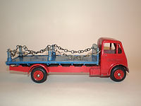 Benbros Qualitoys 220 Flat Truck with Chains