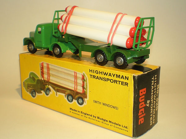 Budgie No.326 Highwayman Transporter