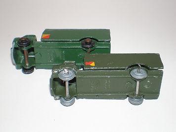 Benbros Mighty Midgets No.30 Army Wagon : Bedford