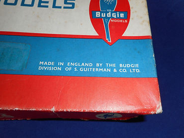 Budgie Gift Set No.4 (Series 2) maker's name