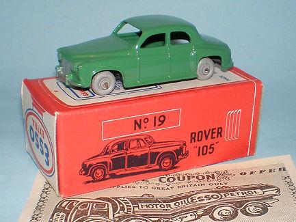 Morestone Esso Petrol Pump Series No.19 Rover 105