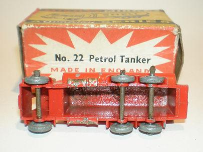 Benbros mighty Midget No.22 Petrol Tanker