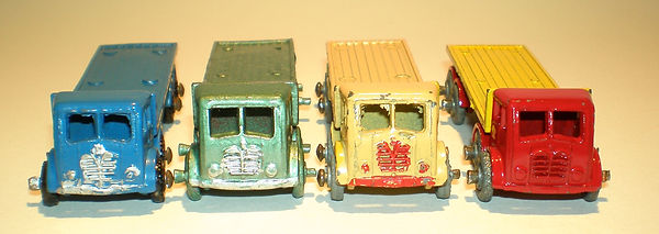 Benbros No.20 Flat Truck - trim variations