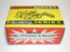 Benbros No.17 Tractor & Harrow Mighty Midget box