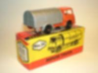 Budgie Miniatures No.24 Refuse Truck - orange