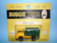 Budgie Miniatures No.21a Tipper Truck - yellow blister-pack