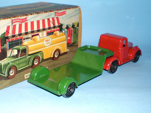 Benbros Qualitoys Articulated Low Loader