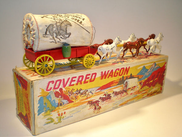 Morestone Six Horse Covered Wagon