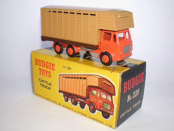 Budgie Toys No.220 Cattle Truck