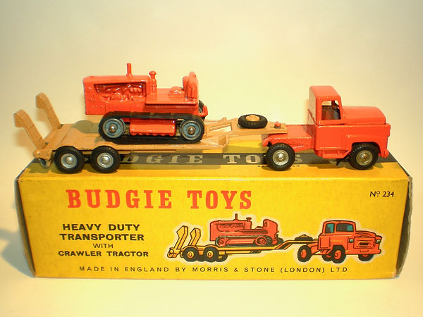 Budgie No.234 Tractor Transporter
