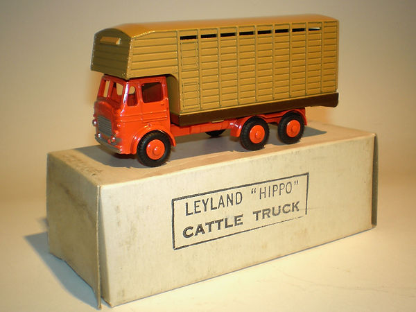 Budgie No.220 Leyland Hippo Cattle Truck