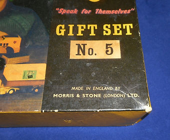 Budgie Gift Set No.5 (Series 1) maker's name