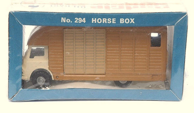 Budgie No.294 Horse Box
