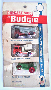Budgie No.96 Series A Road Construction Set