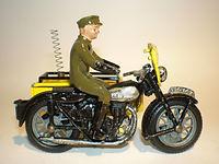 Benbros Qualitoys AA Motorcycle Patrol