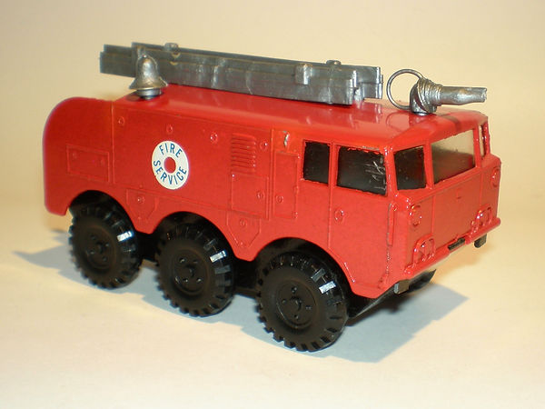 Budgie No.298 Alvis Salamander Fire Crash Tender