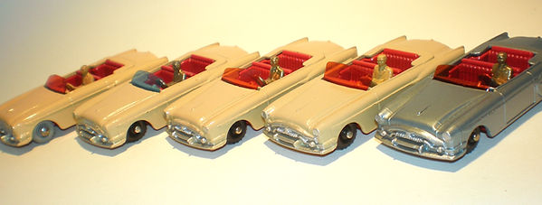 Budgie Miniatures No.14 Packard Convertible - variations