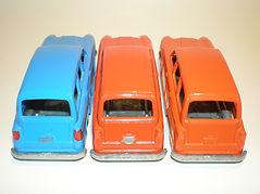Budgie Miniatures No.15 Austin Countryman - rear trim variations