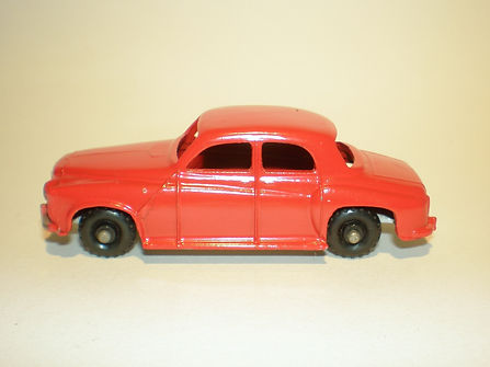 Budgie Miniatures No.60 Squad Car - red