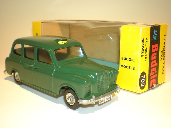 Budgie No.101/703 London Taxi Cab