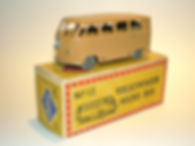 Budgie Miniatures No.12 VW Micro Bus - gpw, Mobile box